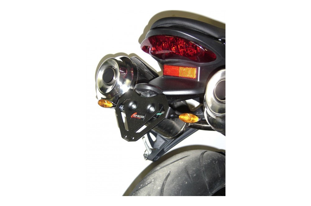 Support de plaque Top Block Street Triple 675 07/12