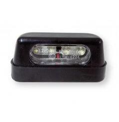 Eclairage de plaque moto LED, Homologué CE