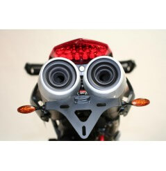 Support de plaque Moto R&G Ducati HYPERMOTARD 796 (10-15) et 1100, S, EVO (07-14)