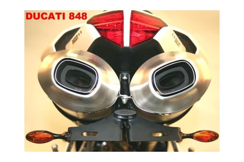 Support de plaque R&G Ducati 848 1098 1198