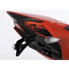 Support de plaque R&G Ducati 899 Panigale S, 959 Panigale (16) et 1199 Panigale (12-15)