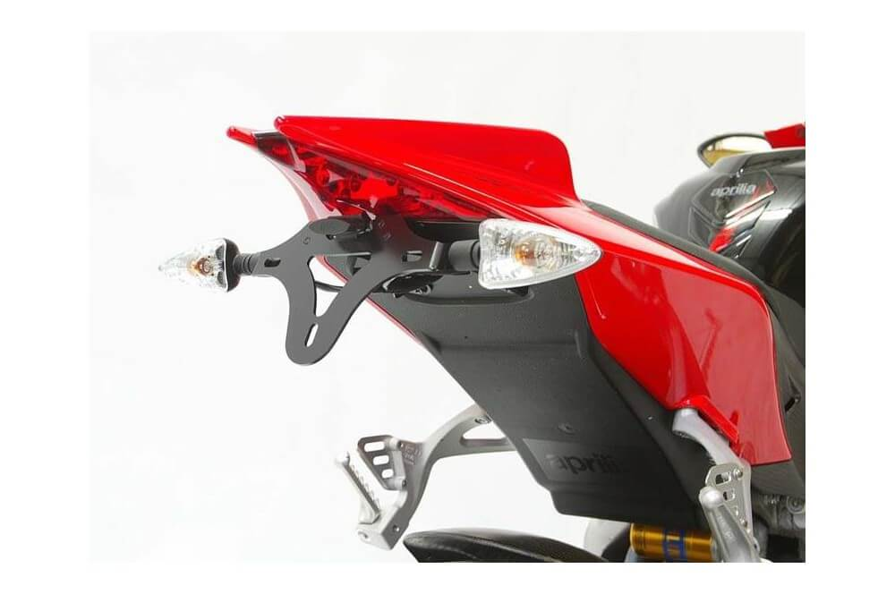 Support de plaque R&G Aprilia RS4 125 RSV 4 1000 Tuono V4