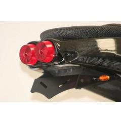 Support de Plaque Moto Pour R&G RSV1000 (01-03) Tuono 1000 (02-05)