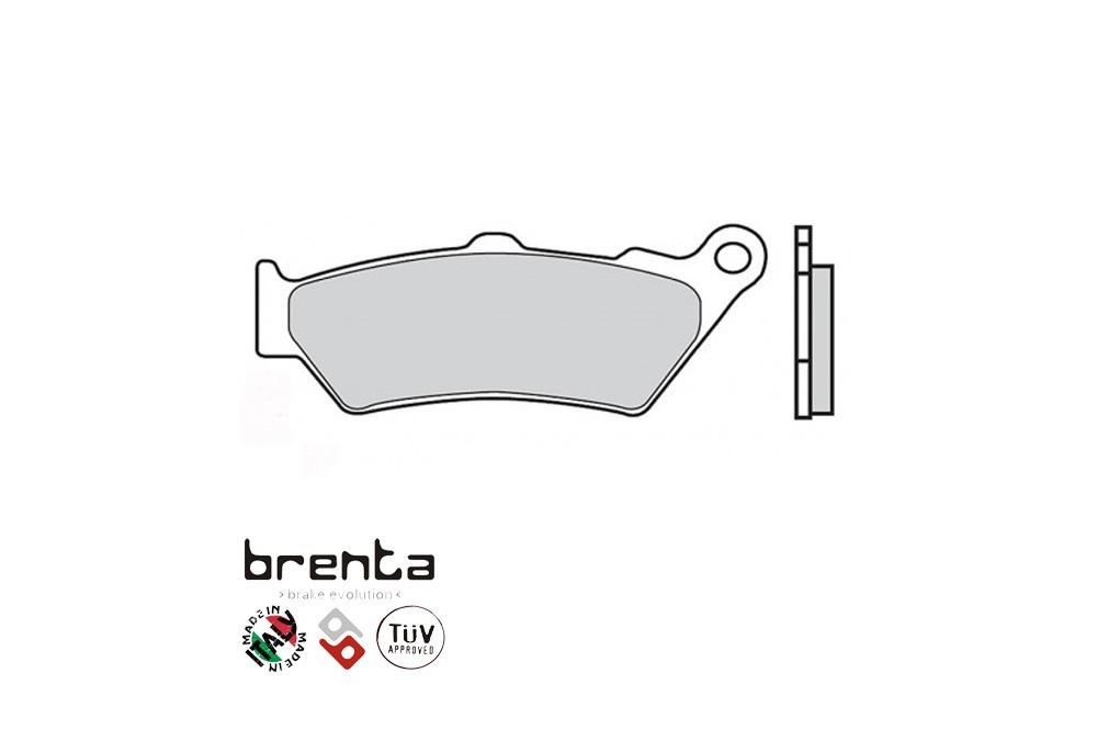 Plaquette Brenta Arrière FT3090