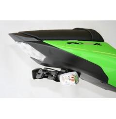 Support de plaque Moto R&G pour ZX6R (09-12) ZX636R (13-16) ZX10R (08-10)