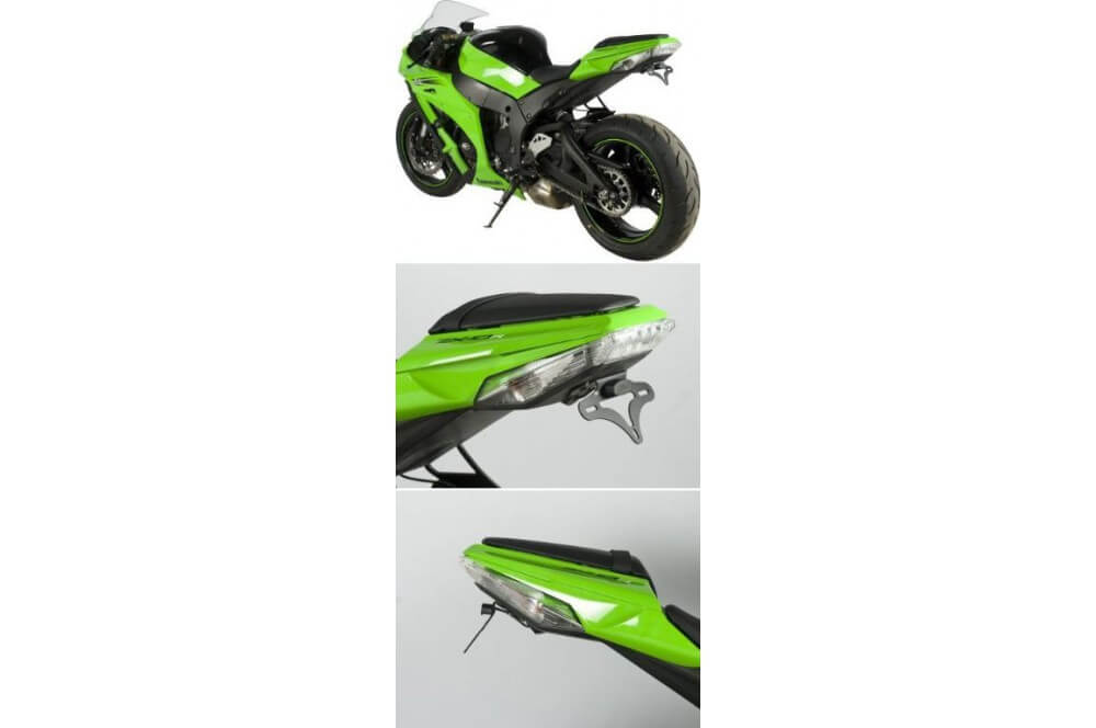 Support de plaque R&G Kawasaki ZX 10 R 11/13