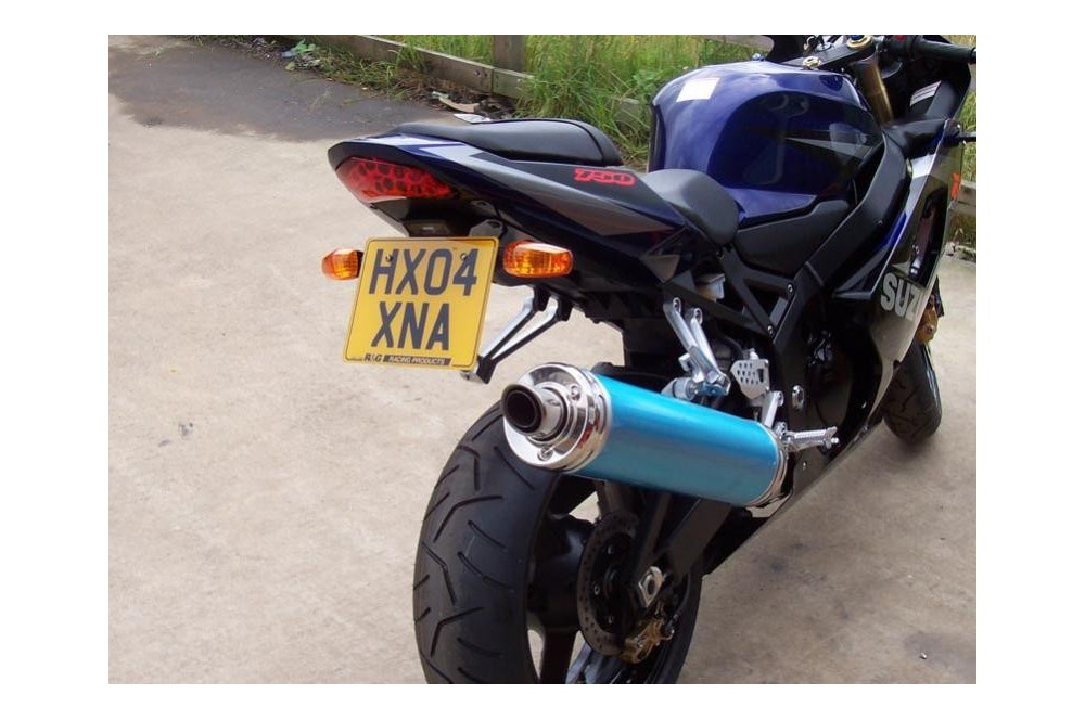 Support de plaque R&G Suzuki GSXR 600 750 04/05