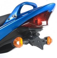 Support de plaque Moto R&G pour Bandit 650 et 1250 (07-09) GSXF 650 et 1250 (08-16)