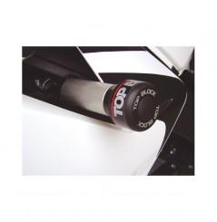 Kit Roulettes Top Block pour Honda CBR125-R de 2008 a 2011