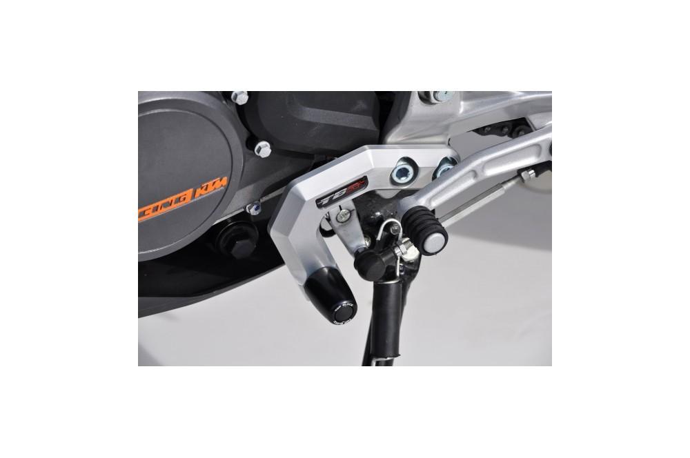 KIT PROTECTION DE SELECTEUR TOP BLOCK KTM DUKE 125/200 de 2011 a 2013