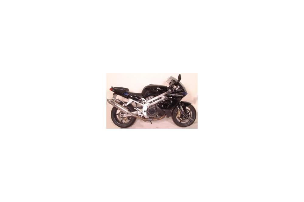 Silencieux Scorpion Factory rond inox Aprilia 1000 Falco