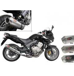 Silencieux Scorpion Factory rond inox Honda CBF600 (07-13)