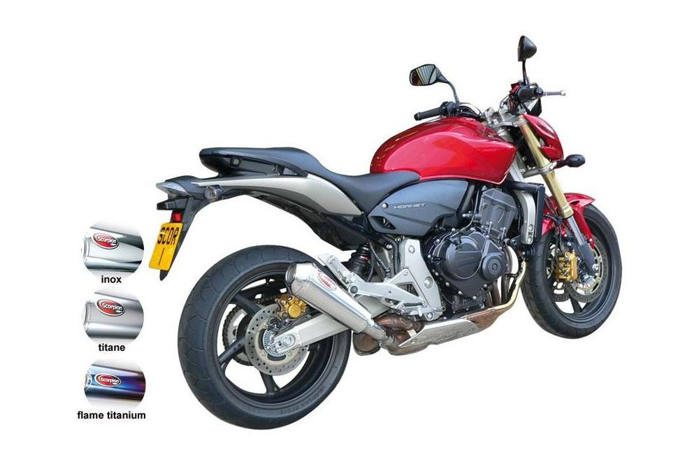 Silencieux Scorpion Power Cone Honda CB 600 F Hornet 07/13