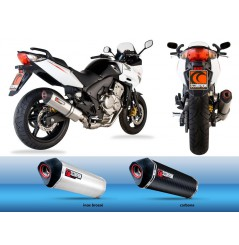 Silencieux Scorpion Serket Carbone Honda CBF600 (06-13)