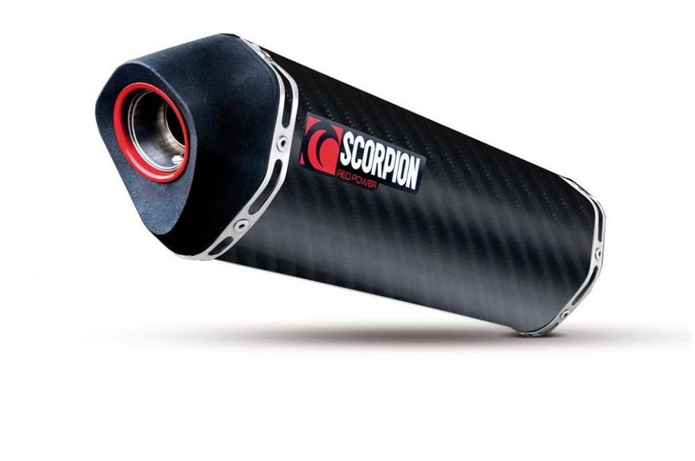 Silencieux Scorpion Serket Carbone Honda CBF 1000 11/13