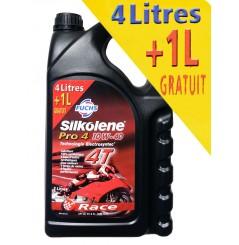 Huile Moto SILKOLENE PRO 4 Race 10w40, 5 Litres