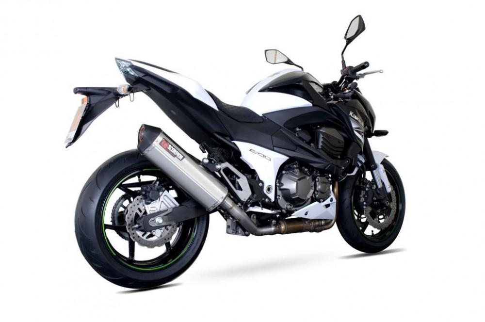 Silencieux Scorpion Serket Inox Kawasaki Z800 2013