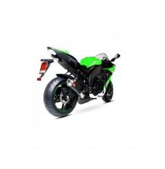Silencieux Scorpion Power Cone Carbone Kawasaki ZX10R (08-10)