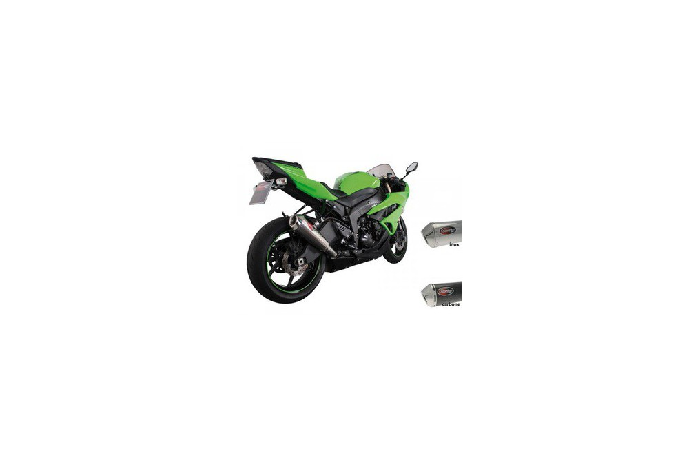 Silencieux Scorpion Power Cone Inox Kawasaki ZX10R 08/10