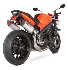 Silencieux Scorpion Serket Carbone Triumph Speed Triple 1050 (11-16)