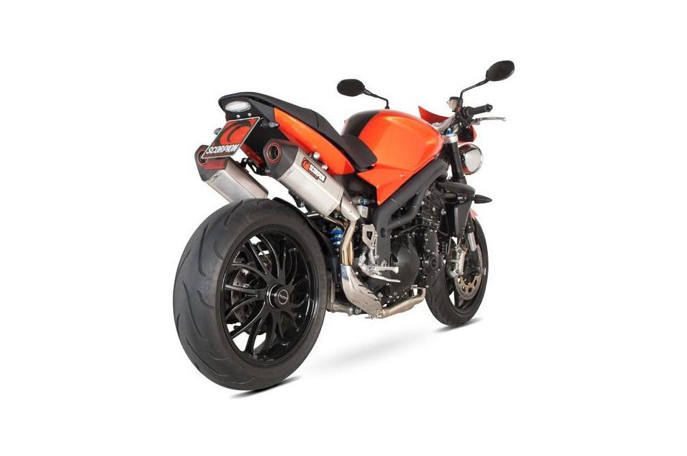 Silencieux Scorpion Serket Carbone Triumph Speed Triple 1050 11/13