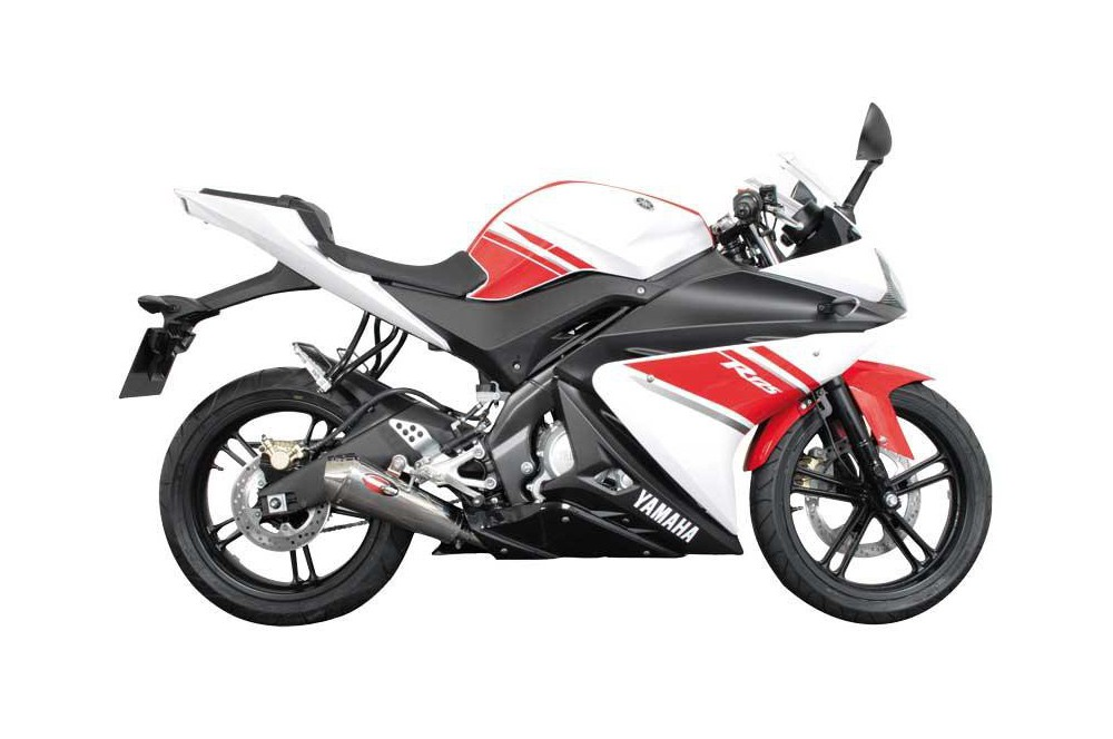 Ligne complète Scorpion Power Cone Inox Yamaha YFZ125R 08/13