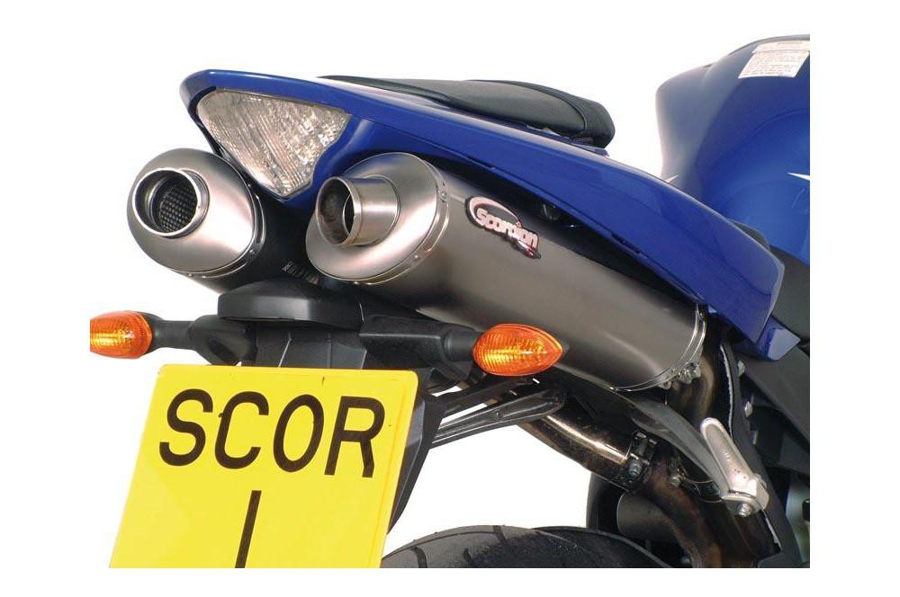 Silencieux Scorpion Alteum Carbone Yamaha YZF R1 04/06