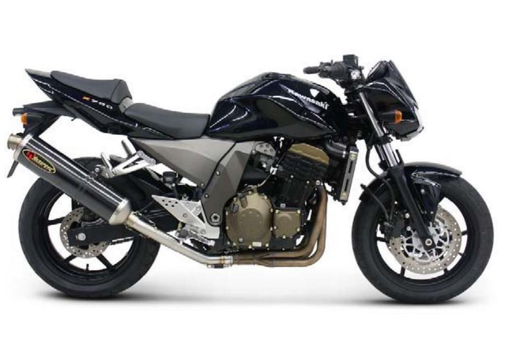 silencieux akrapovic homologu z750 04 06 street moto piece. Black Bedroom Furniture Sets. Home Design Ideas