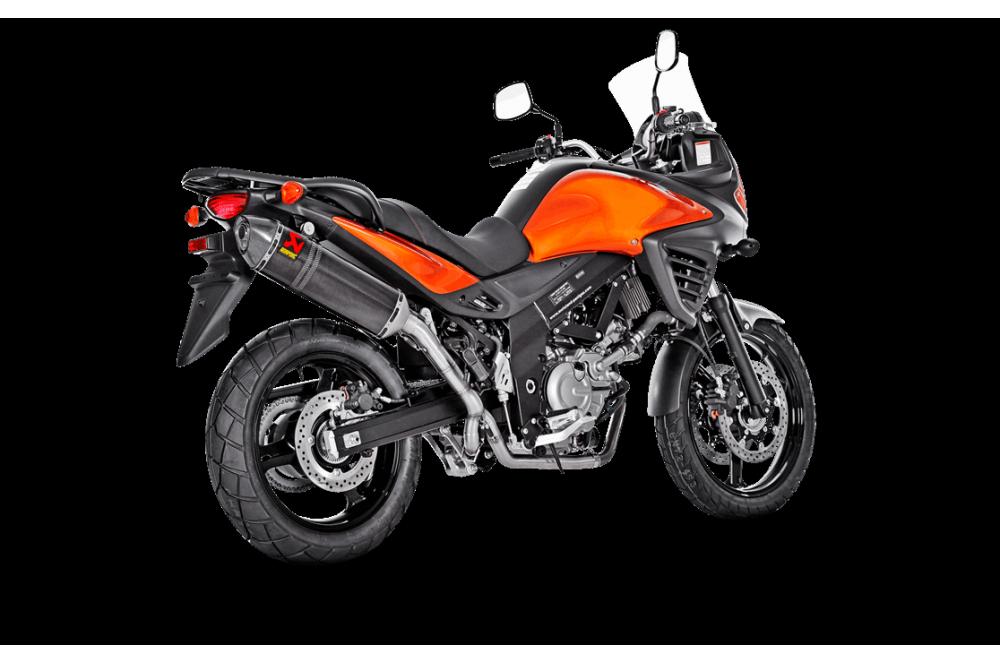 Silencieux Akrapovic Carbone V-STROM 650 de 2012 a 2014