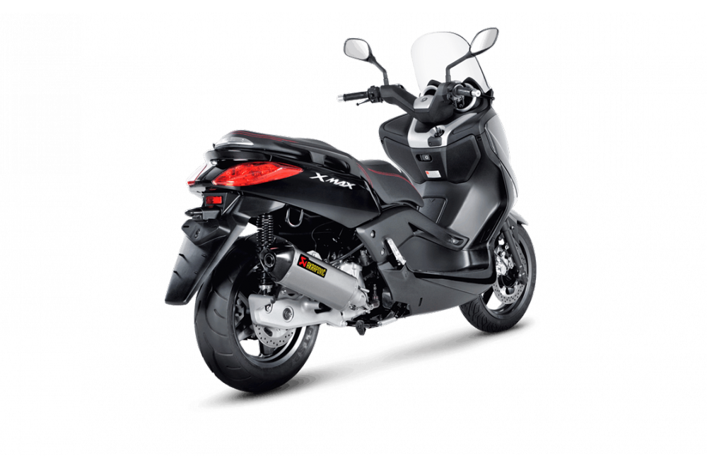silencieux akrapovic x max et x city 125 de 2008 a 2014 street moto piece. Black Bedroom Furniture Sets. Home Design Ideas