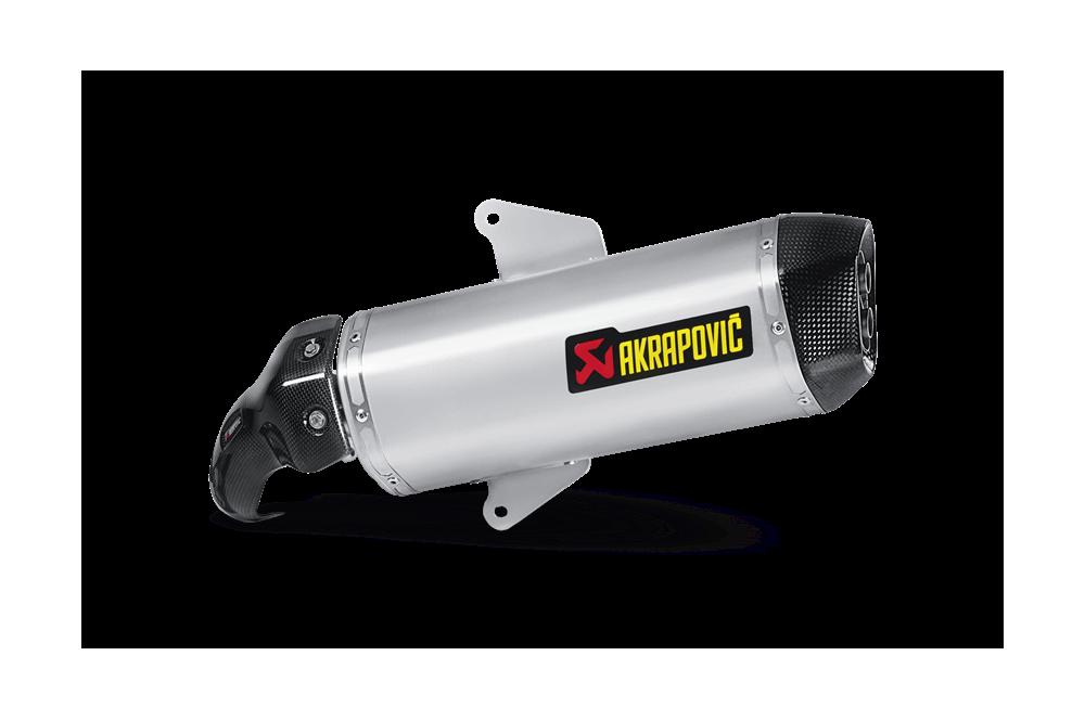 Silencieux Akrapovic Homologué SRV 850 de 2012 a 2014