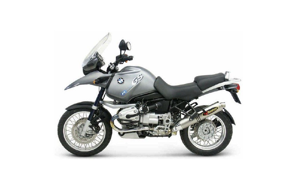 Silencieux Titane Akrapovic Homologué R1150 GS de 1999 a 2006