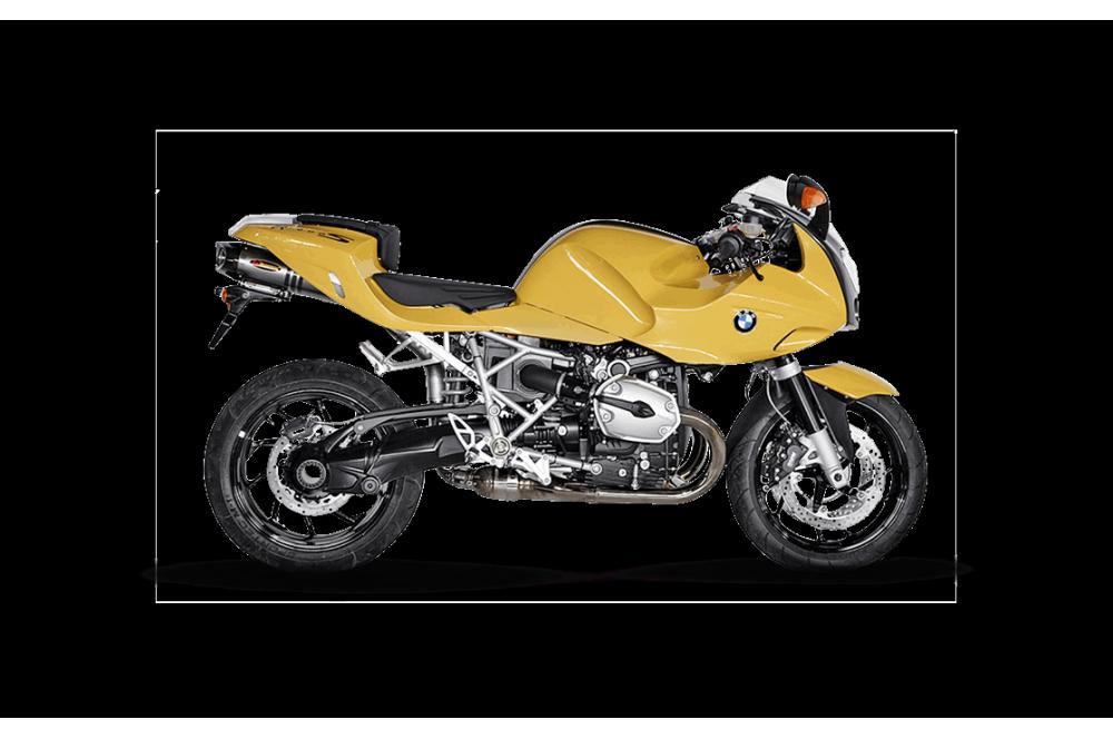 Silencieux Titane Akrapovic Homologué R1200 S de 2006 a 2010