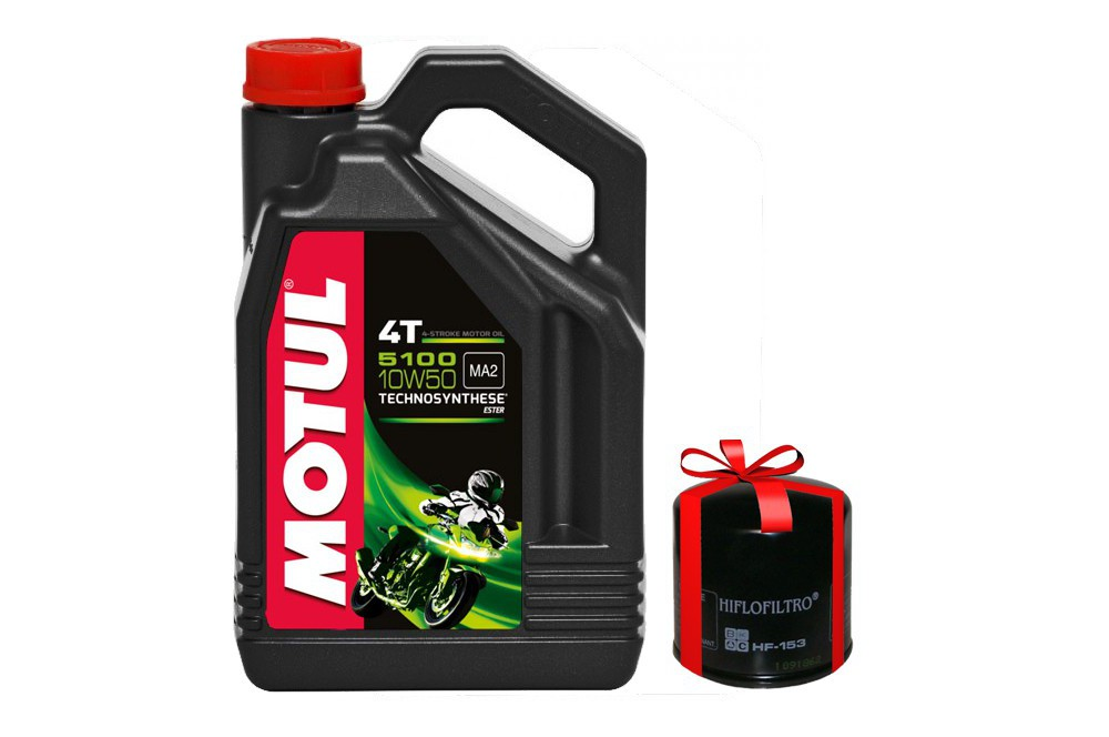 huile moto motul 5100 4t 10w50 4 litres filtre a huile street moto piece. Black Bedroom Furniture Sets. Home Design Ideas