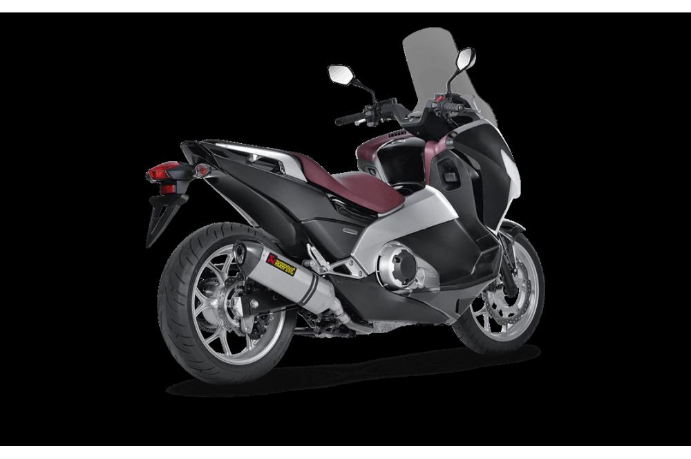 Silencieux Titane Akrapovic Homologué Honda Integra 700