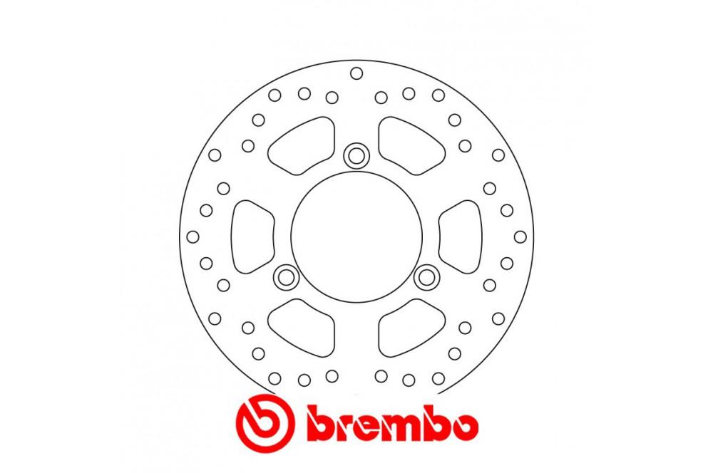 Disque de frein avant/arrière Brembo Suzuki 125 Burgmann 06-14