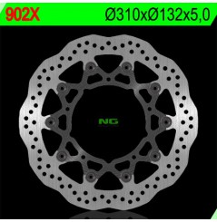 Disque de frein NG Brake wave avant YZF-R6 (05-16), FZ8 Fazer 8 (10-16), YZF R1 (07-14)
