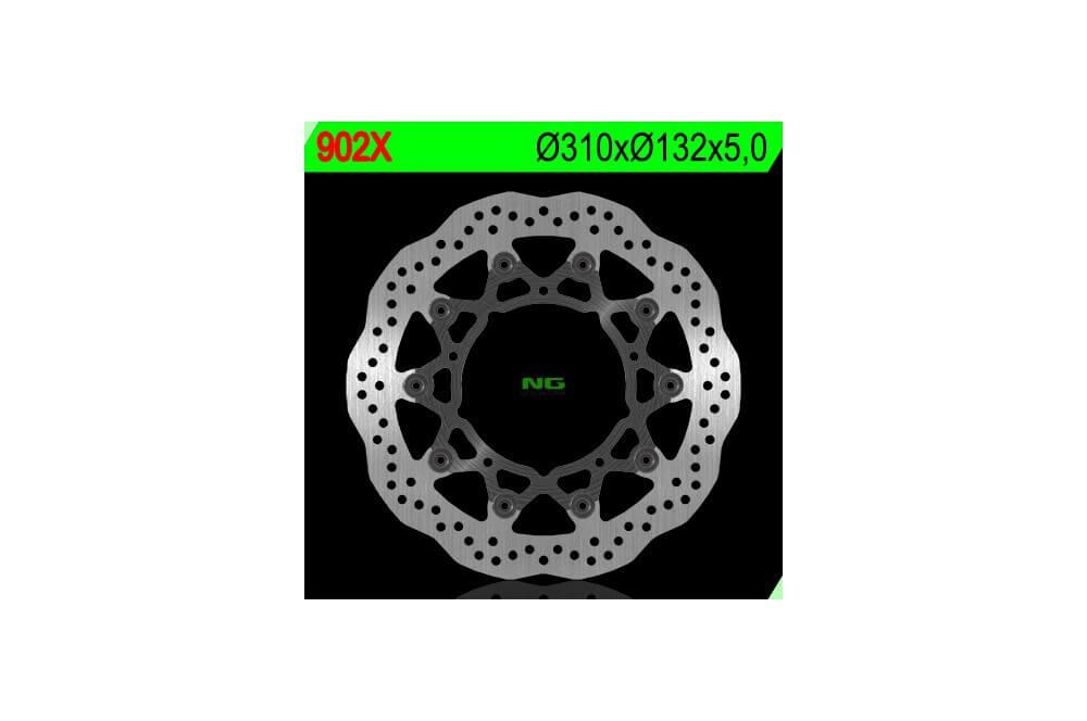Disque de frein wave avant YZF R6 05/14, FZ8 Fazer 8 10/14, YZF R1 07/14
