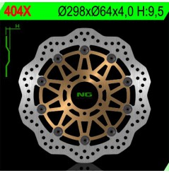 Disque de frein avant wave 600 Fazer (98-03) TDM 850 (91-01) TRX850 (95-00)