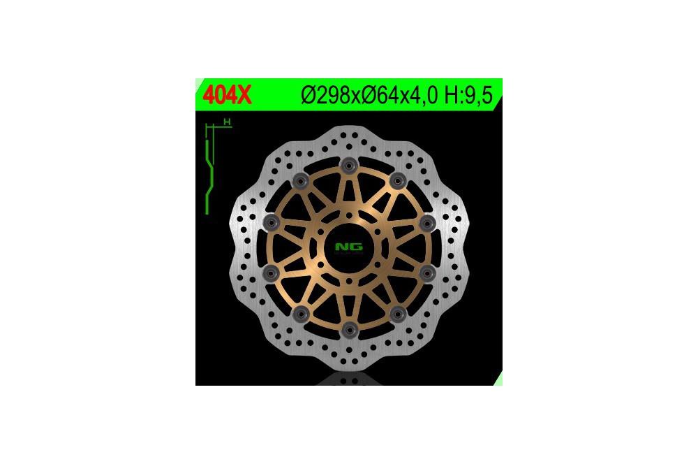 Disque de frein avant wave FZS 600 Fazer 98/03, TDM 850 91/01, TRX 850 95/00