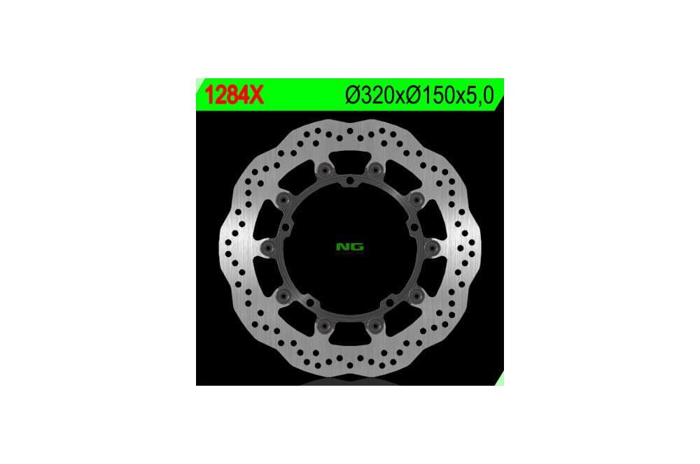 Disque de frein avant wave TRIUMPH 1050 Speed Triple 08-10