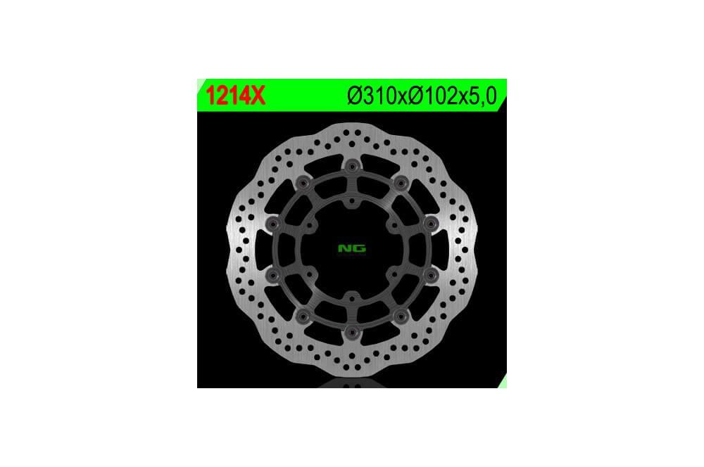 Disque de frein avant SUZUKI GSXR 600 / 750 / 1000 de 08/13