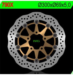 Disque de frein avant Wave SUZUKI GSXR 600 04/05, GSXR 750 04/05, GSXR 1000 03/04