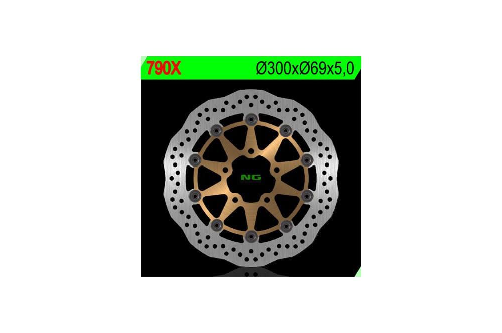 Disque de frein avant SUZUKI GSXR 600 04/05, GSXR 750 04/05, GSXR 1000 03/04