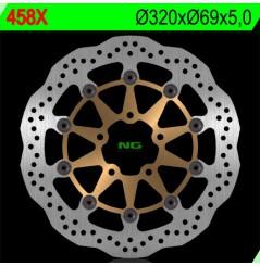 Disque de frein Avant NG Brake Wave GSXF600, GSXR750, GSXR1000, TL1000R, TL1000S, Hayabusa, GSX1400