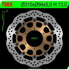 Disque de frein avant Honda CBR600RR ABS (09-12) , CB1000R (08-11) , CBR1000RR (04-05) , CB 1300 (01-11)