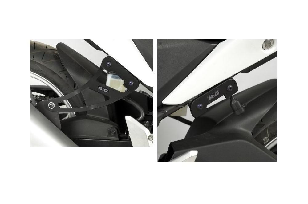 Support de Silencieux R&G Honda CBR250R