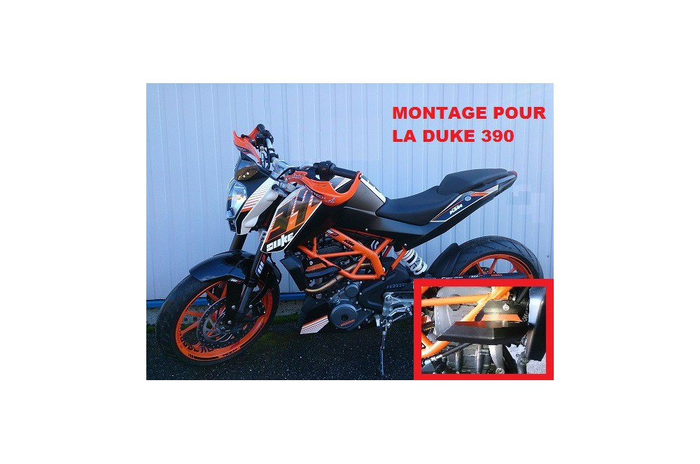 KIT PATINS TOP BLOCK KTM DUKE 125 / 200 / 390 de 2011 a 2014