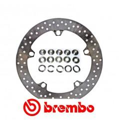 Disque de frein avant Brembo BMW R1200GS et R1200R Dark White
