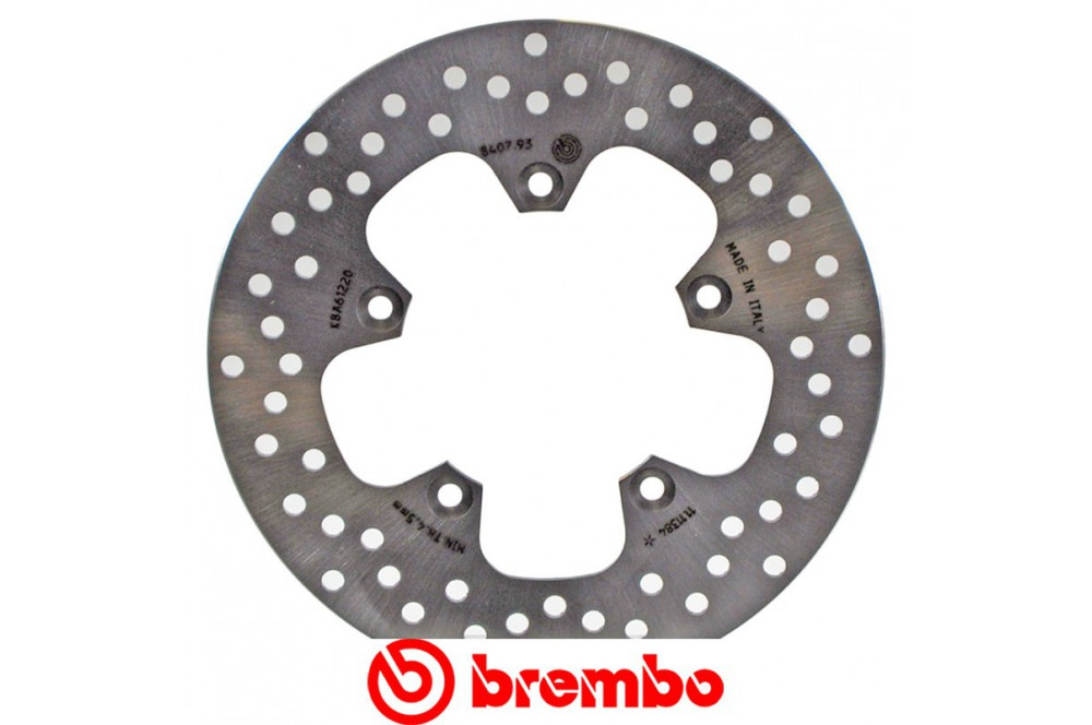 Disque de frein arrière Brembo Yamaha XJ6 09-14